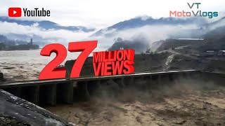 During Kedarnath Tragedy, Dam Overflow in Srinagar Garhwal Uttrakhand 2013.