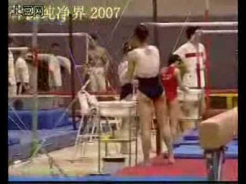 Womens Chinese Gymnastics Training 2007