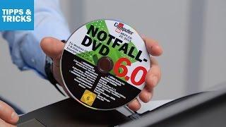 Notfall-DVD 6.0: Die wichtigsten Funktionen