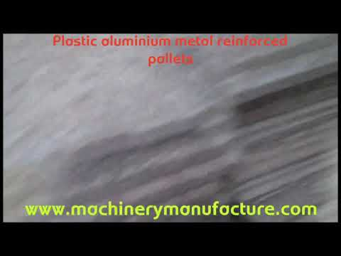 recycle plastic ply for bricks machine/pvc pallets