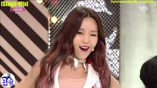 [Stage-Mix] Dalshabet(달샤벳) ★ JOKER
