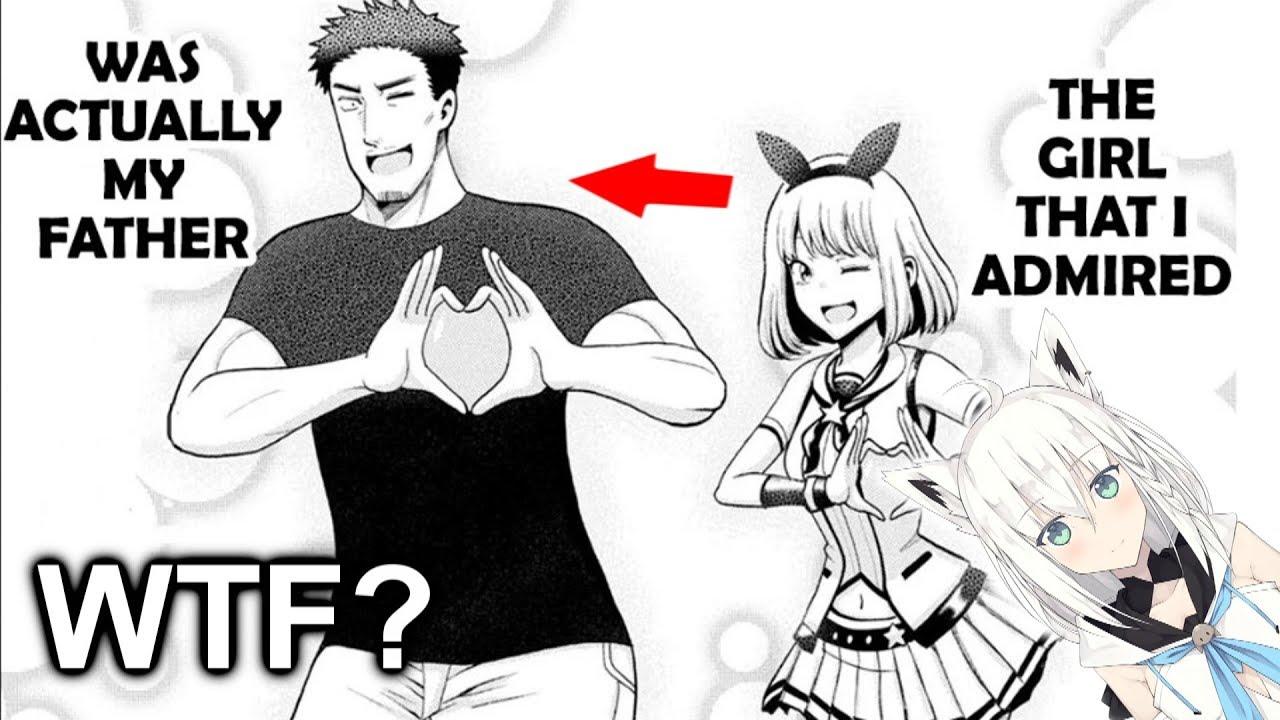 my father is a cute vtuber girl.... (Virtual Youtuber Manga)
