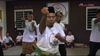 Ancient martial art: Buah Pukul Mersing