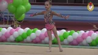 Художественная гимнастика: первые шаги