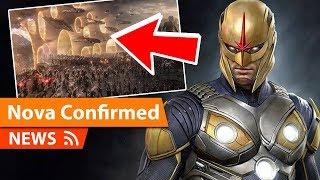 Avengers Endgame introduced Nova to the MCU