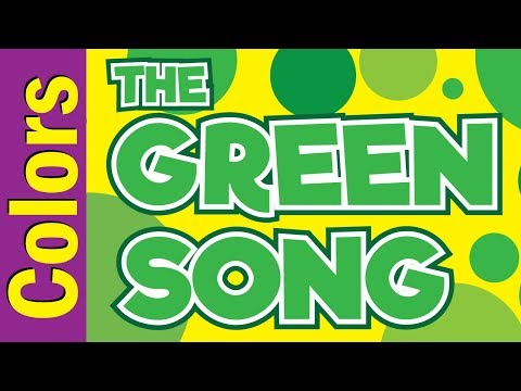 Green Song | Colors Song for Kids ESL & EFL | Colors Song | ESL for Kids | Fun Kids English