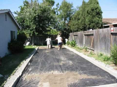 How To Build A Zen Garden.   YouTube Part 8