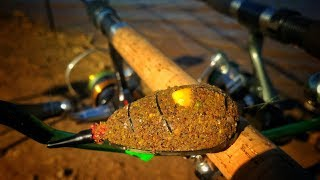 Рибалка з ночівлею. Короп і карась на фідер. Асиметрична петля або Флет метод.