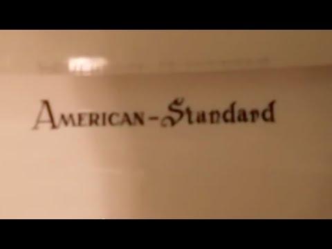 1960s American Standard Fixtures In A Original Bathroom Toilet Productions