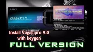 Cara Instal Sony Vegas Pro 9.0 32Bit/64Bit Dengan Keygen Menjadi Full Version