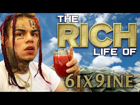 Tekashi 6ix9ine | The Rich Life | FORBES 2018 Net Worth ( Ch