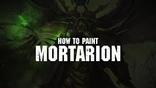 How to paint Mortarion.