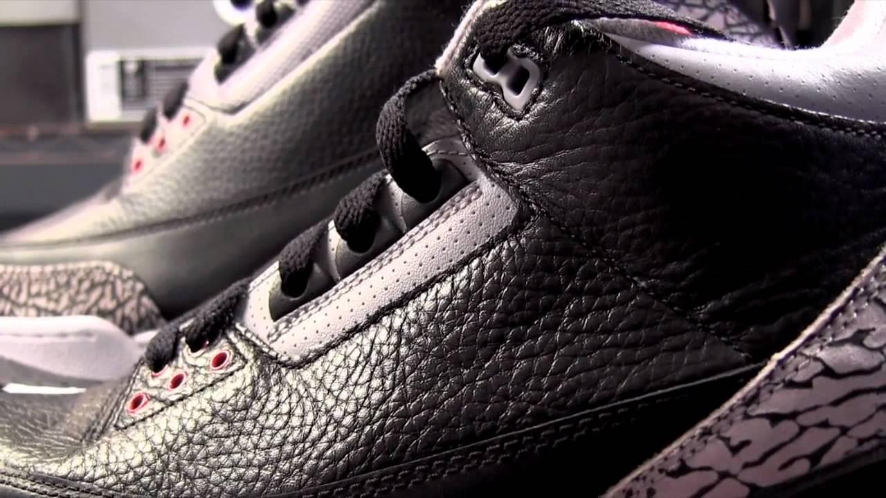 0ad2dc59075 Air Jordan 3 (III) Black Cement 2011 vs Jordan 3 CDP Comparison