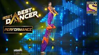 Sonal और Tushar का Energetic Bhangra DancePerformance | India's Best Dancer