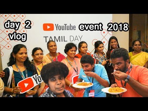 Youtube Tamil Day Event In Chennai | All YouTube Creator Meetup | Day 2 Vlog