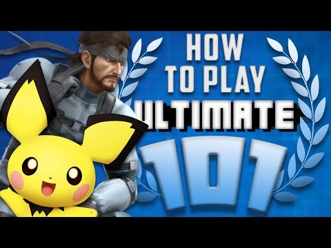 HOW TO PLAY SMASH BROS ULTIMATE 101