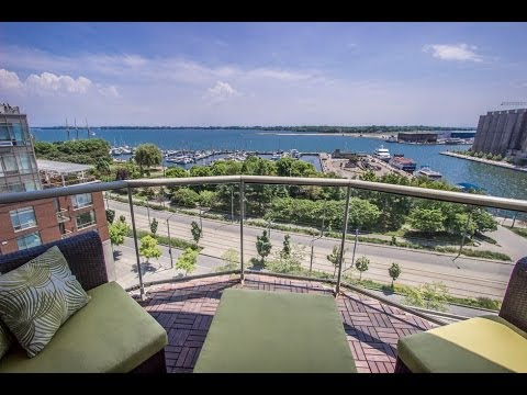 550 Queens Quay West 2 Bedroom Lakeview Condo For Sale