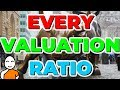✅ Every Stock Valuation Ratio To Value A Stock ❗ P/E Ratio P/S Ratio P/B Ratio D/E Ratio And More ✅