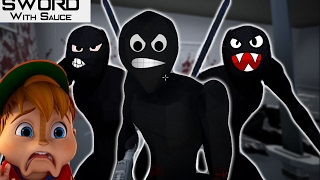 THESE NINJAS HATE CHIPMUNKS | Sword With Sauce #1 w/ Calvin AKA Fruit Snacks