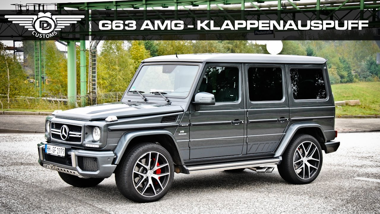 mercedes g klasse g63 amg klappenauspuff sound tuning by dd customs hamburg youtube. Black Bedroom Furniture Sets. Home Design Ideas