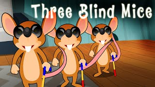 Three Blind Mice English Nursery Rhyme Song for Children with …