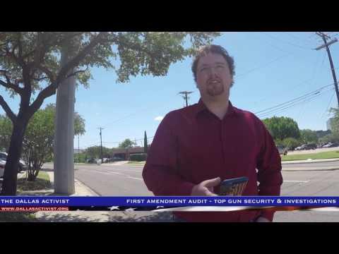 First Amendment Audit - Top Gun Security & Investigations