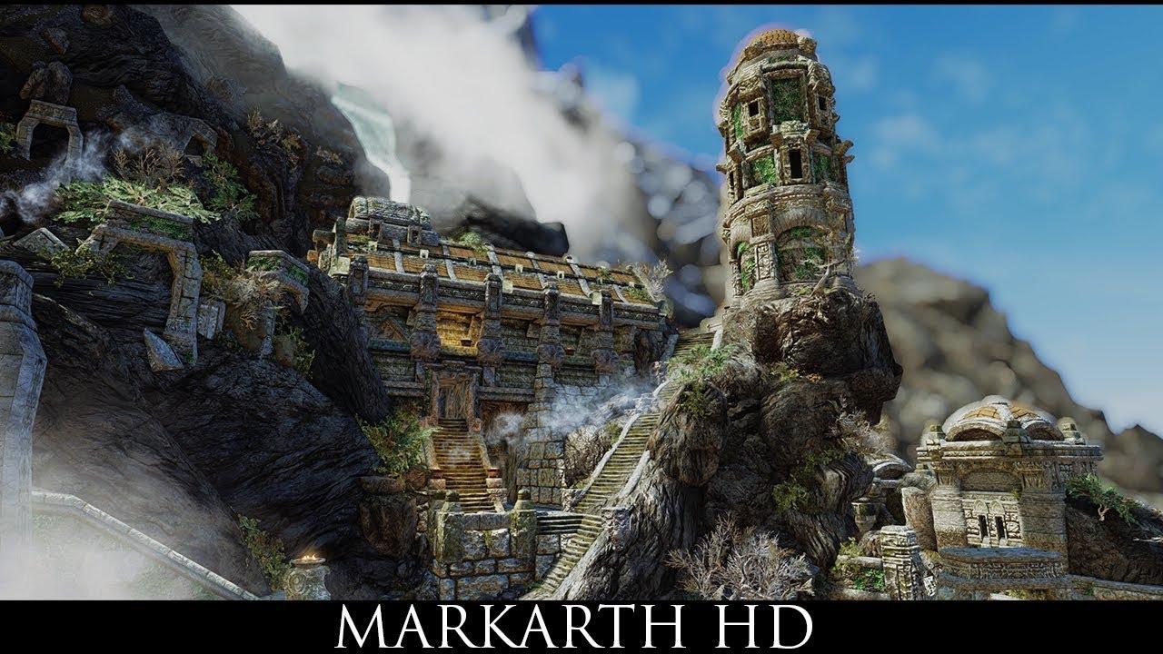 Skyrim SE Mods: Markarth HD