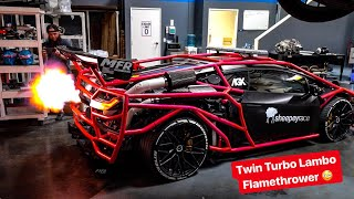 THE MOST HATED LAMBORGHINI JUST GOT CRAZIER! *FLAMES HUGE FLAMES*