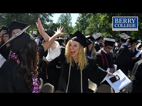 Berry College Commencement 2018