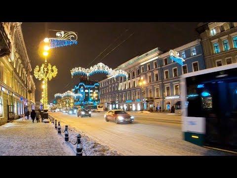 ⁴ᴷ Санкт-Петербург под