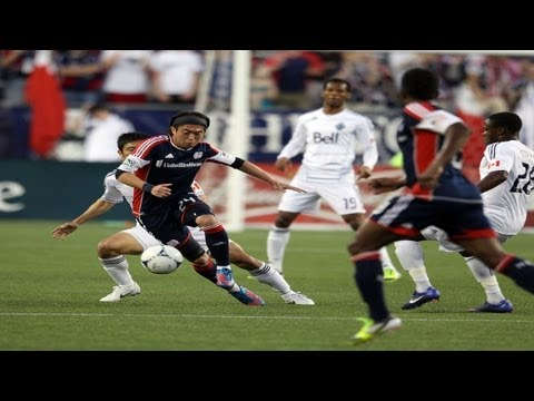 Lee Nguyen scores an amazing goal for the New England Revolution