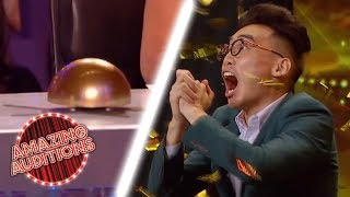 best Magic Auditions That WON The GOLDEN BUZZER | Amazing Auditions