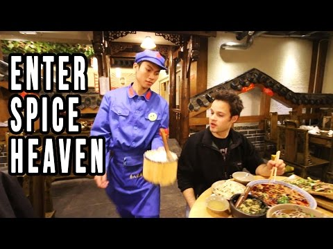 Thumbnail: Eating At A Communist Restaurant in China | Mindblowing Chinese Food in Sichuan