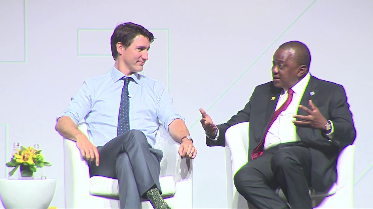 UHURU KENYATTA IN CANADA OPENING THE WOMEN DELIVER 2019 CONFERENCE