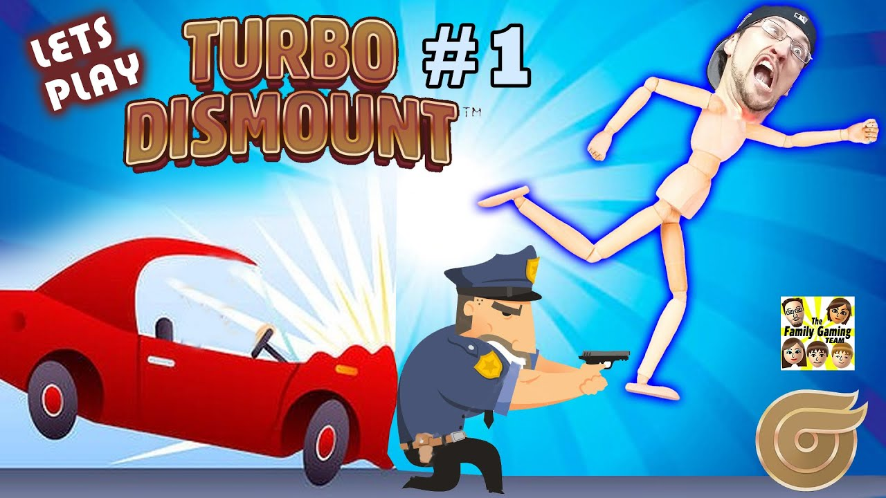 Lets Play TURBO DISMOUNT! FGTEEV Duddy Runs from the Cops ...