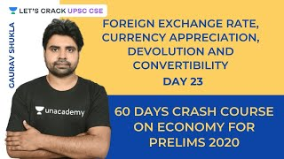 Foreign Exchange Rate, Currency Appreciation, Devolution and Convertibility | Crack UPSC CSE