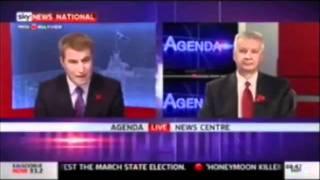 Senator Gary Humphries On Sky News AM Agenda With David Lipson And Sen Doug Cameron