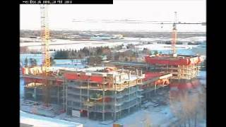 University Of Regina Construction Time Lapse