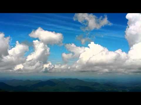 Timelapse - Clouds over Brasstown Bald, Georgia