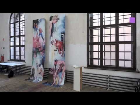 Theartview Annual Show At The Academy Of Fine Arts Vienna Youtube