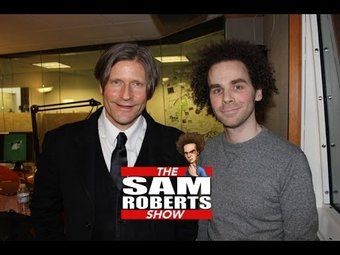 Sam Roberts & Crispin Glover Letterman, Back to the Future, etc