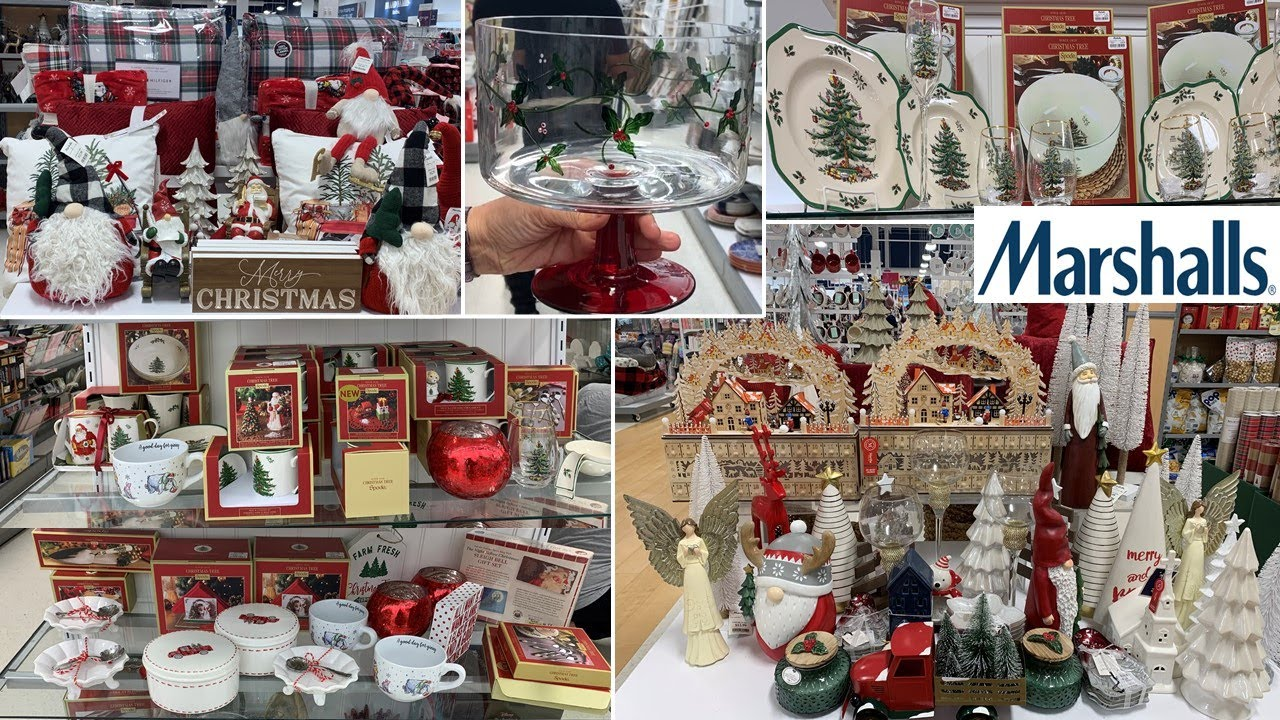 Marshalls Holiday Home Decor * Kitchen Decor | Shop With Me 2020