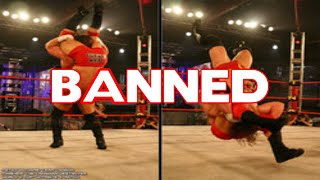 10 Most Brutal & Deadly Moves Banned By WWE