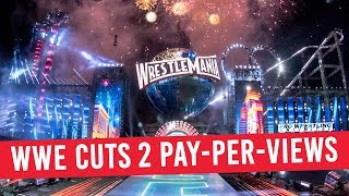 WWE Cuts 2 Pay-Per-View Events In 2018
