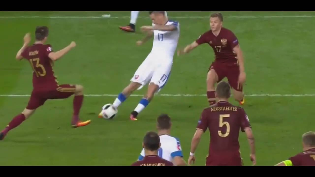Marek Hamsik vs Russia 2-0 Incredible Goal   15.06.16