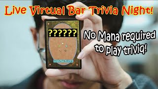 Play Pub Trivia Here! Play virtual trivia with us! General Knowledge questions!!