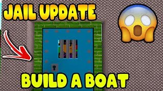*JAIL* UPDATE | BUILD A BOAT for Treasure ROBLOX