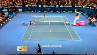 Tsonga vs Nadal Australia Open 2008*