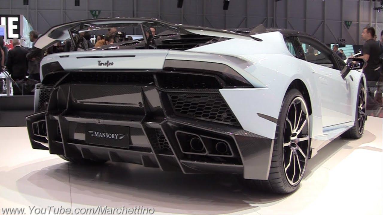 1000hp Mansory Lamborghini Huracan Twin Turbo Youtube