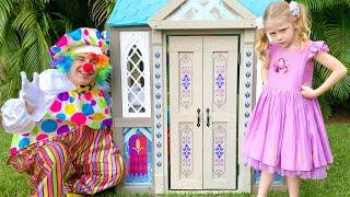 Nastya y su nueva casa de juguete con muchos peculiaridades